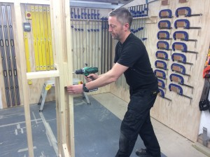 Carpentry courses are available at all levels here at Able Skills.