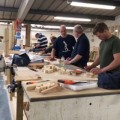 Carpenters training at Able Skills
