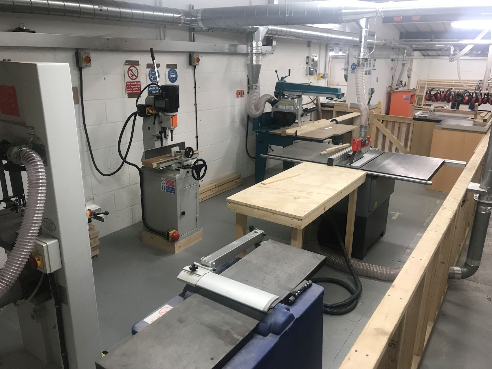 Investment in our Carpentry Centre.