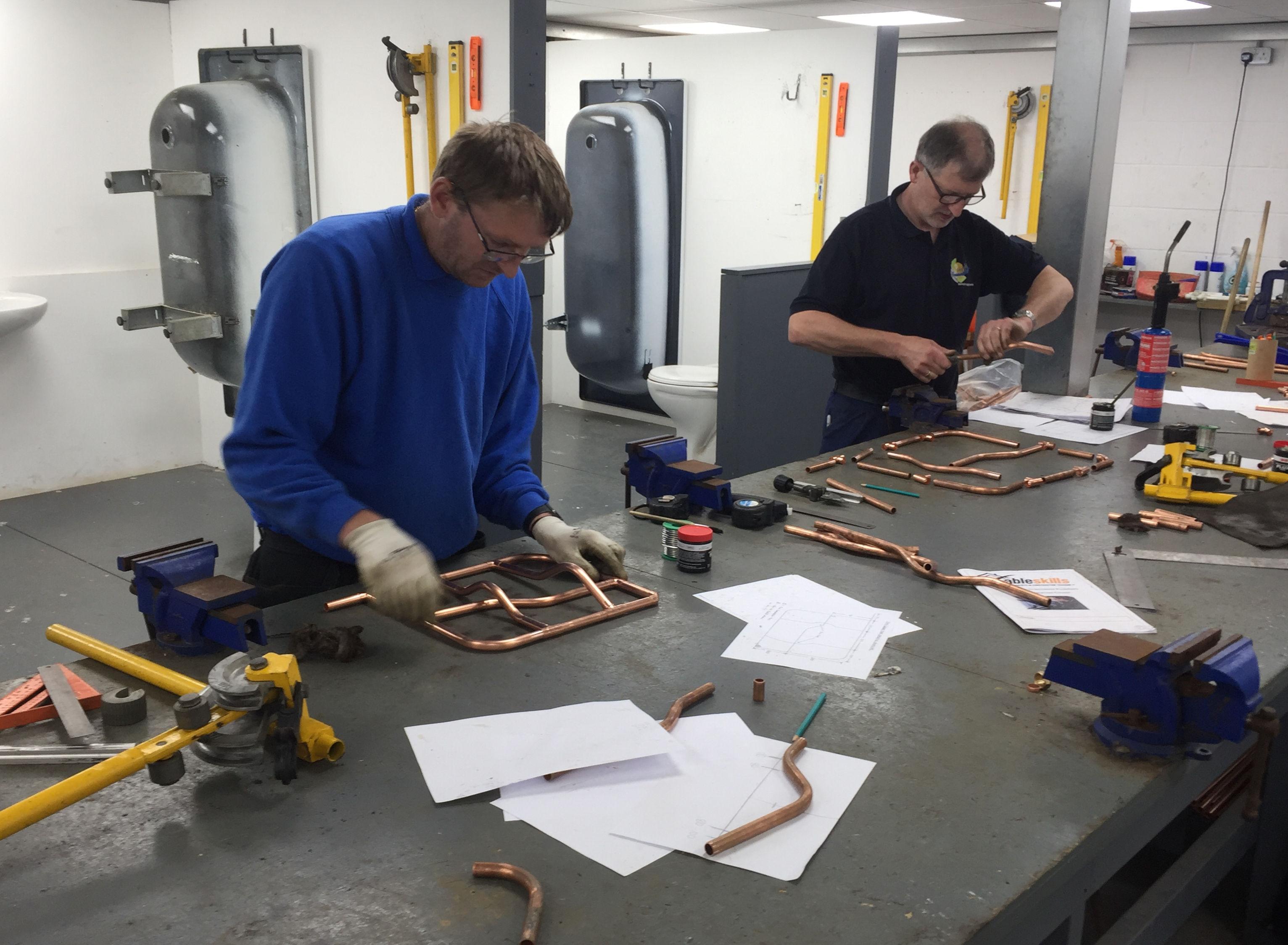 soldering plumbing courses