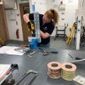 A rise in female electricians, plumbers and builders!