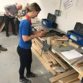 A strong end to a busy week in our Carpentry Centre!