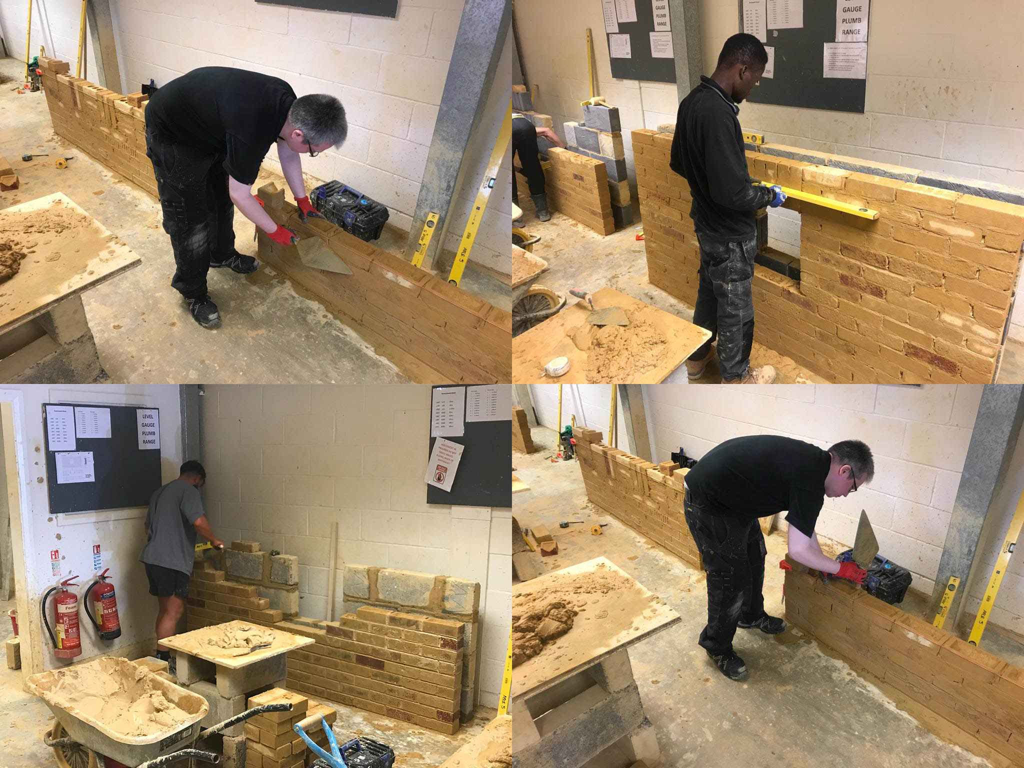bricklaying courses