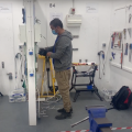 Electrician courses back in action here at our centre!