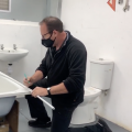 Students gaining DIY practical experience on our Plumbing courses!