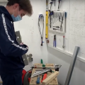 Back on track helping students complete their Electrician courses