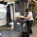 Why are plumbers experincing huge pay increases?