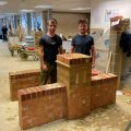 Student Stories, Connah & Ostin, Bricklaying