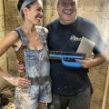 Emma's Final Day Of Plastering With Able Skills